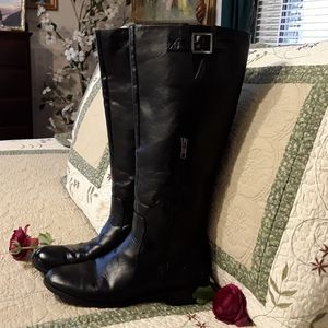 """LADIES UNLISTED """"SPARE ME"""" KNEE HIGH BOOTS SIZE 9M"""